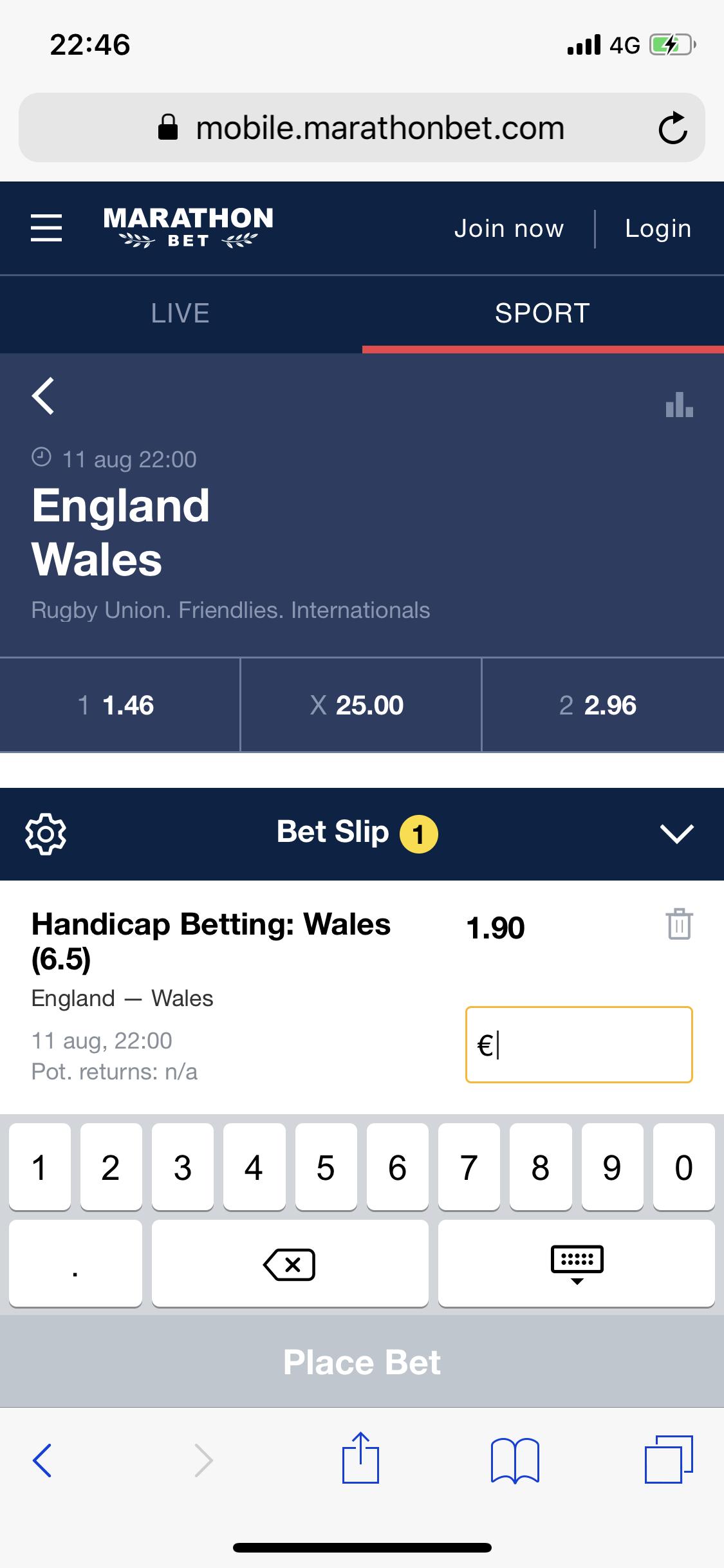 イングランド 対 ウェールズ