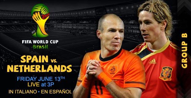スペインvsオランダ
