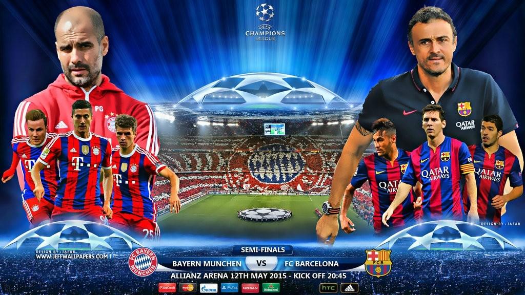 Munchen vs barcelona 2015