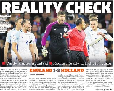イングランド対オランダ