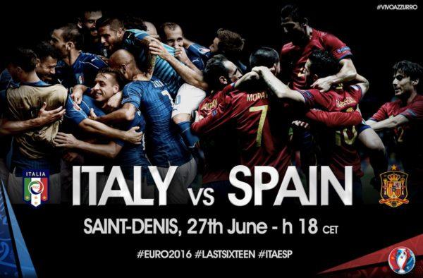 イタリア対スペイン 海外プロ予想・ユーロ2016-1