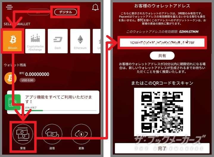 ペイセント入金方法02