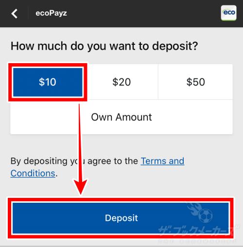 betway 入金方法
