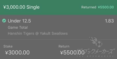 bet365ヤクルト-阪神